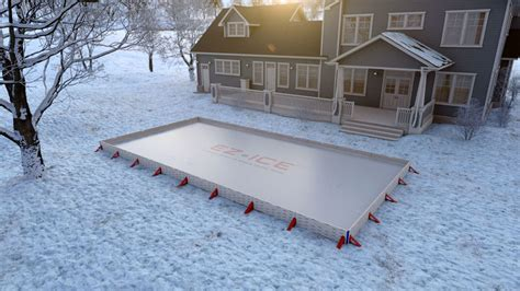 diy backyard rinks backyard rink