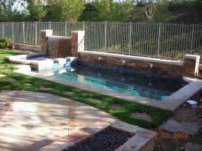 How To Build A Backyard Pool Back Yard Swimming Pool Designs