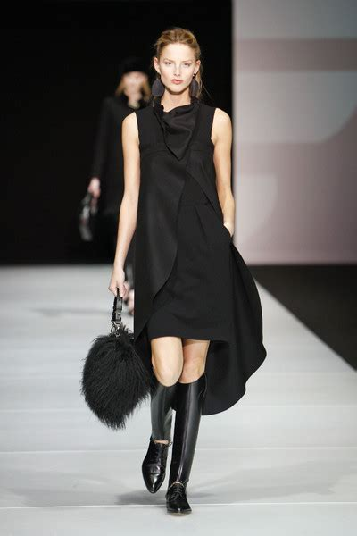 Catwalk To Carpet In Giorgio Armani by Emporio Armani Catwalk Fashion Show Milan Fw2011 Team