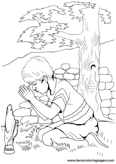 Lds Coloring Pages Prayer by Lds Prayer Coloring Page Nursery Color Pages