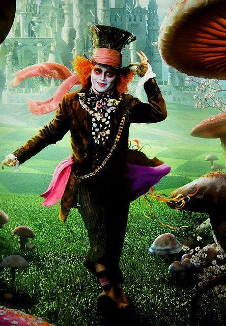 film animasi mad hatter mad hatter johnny depp alice in wonderland movie
