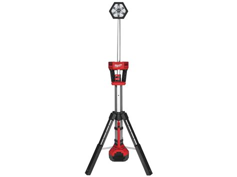 led work light stand milwaukee m18sal 0 18v trueview led work stand light bare unit