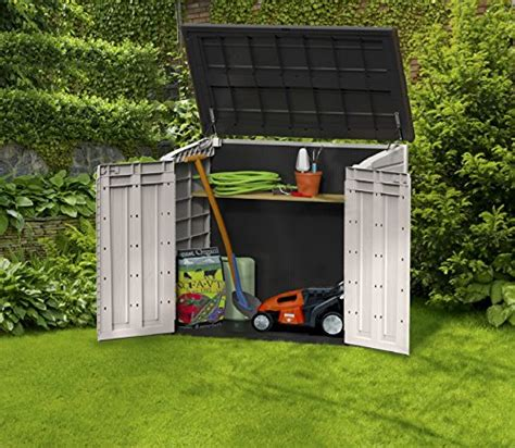 Keter Horizontal Shed by Keter Store It Out Midi Outdoor Resin Horizontal Storage