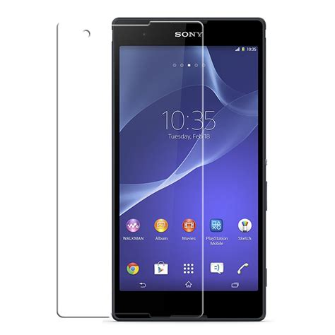 Screen Protector Hd Clear Sony Xperia T3 Ultra 2 Buah sony xperia t2 ultra ultra clear screen protector pdair