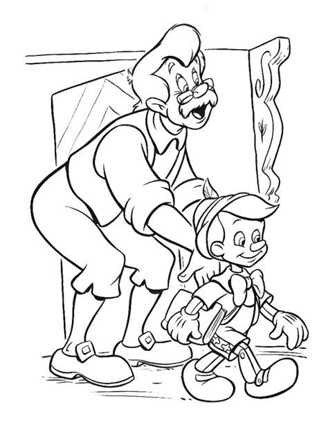 pinocchio coloring pages pinocchio coloring pages coloringpages1001