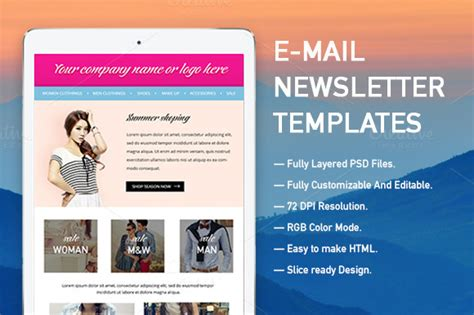 E Newsletter Templates free islamic newsletter templates 187 designtube creative