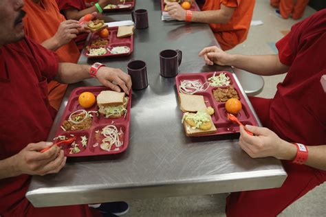 these 3 correctional facilities serve local food