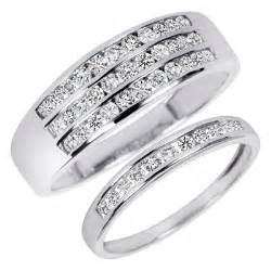 wedding ring set his and hers his and hers wedding ring sets a trusted wedding source