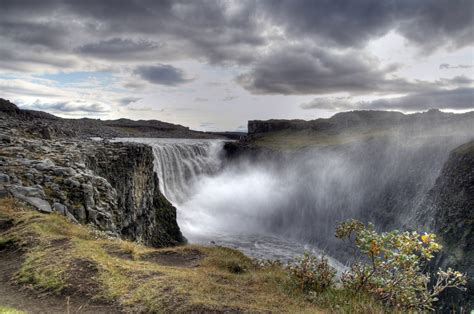 Beautiful Office dettifoss waterfall closed due to dangerous conditions
