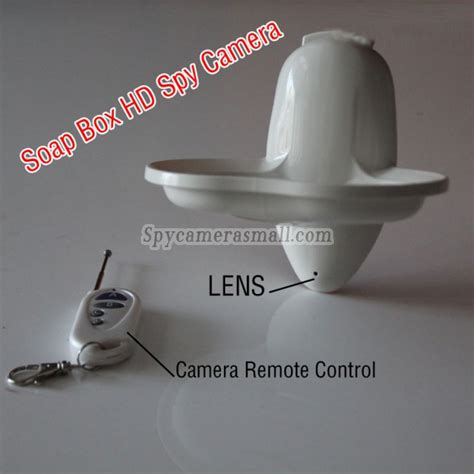spycam bagni new soap box hd remote 1080p