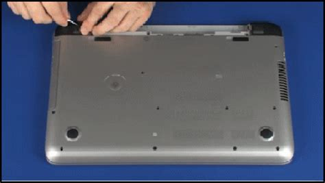 removing and replacing the top cover for hp envy 15 k000