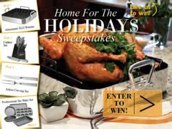 Home For The Holidays Sweepstakes - oneida ltd kicks off home for the holidays facebook sweepstakes