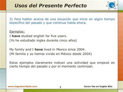 preguntas en presente perfecto en ingles afirmativas negativas y interrogativas 2 3 presente perfecto usos y ejemplos en oraciones