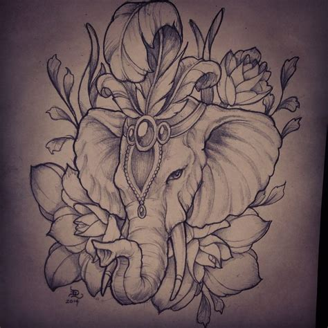 elephant tattoo neo traditional 103 best neo traditional images on pinterest sketch