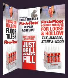 the revoloutionary fix a floor repair adhesive now