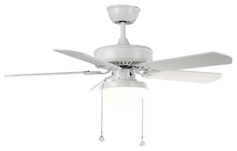 Ceiling Fan Shades by Modern White Ceiling Fan With Glass Shade Modern