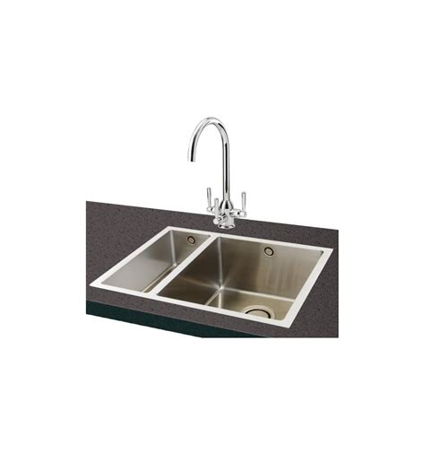 inset stainless steel kitchen sinks carron phoenix deca 150 stainless steel kitchen sink inset