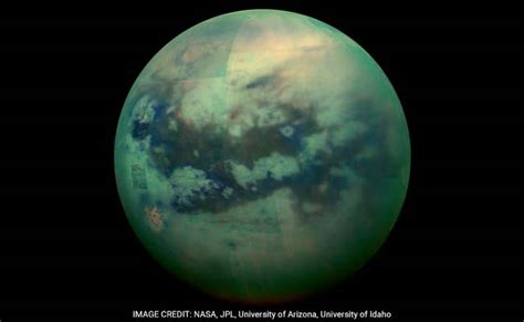saturn s largest moon could exist on saturn s moon titan study