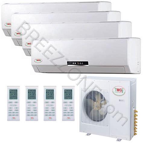 mini split air conditioners ductless mini split heat pumps 9 12 12 12k ymgi quad zone ductless mini split air