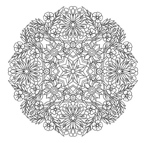 mandala coloring pages pdf mandala to in pdf 9 mandalas coloring pages