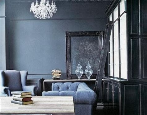 Gray Blue Living Room Retrofit Green Color Trends Blues