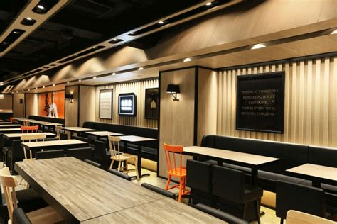 home design service yoshinoya fast food restaurant by as design service hong