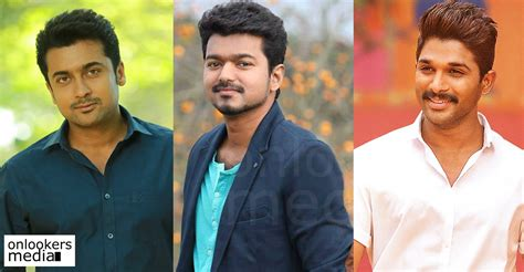 vijay or suriya who is top tamil cinema news suriya on top of allu arjun and vijay