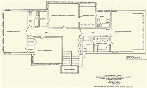 exquisite frank lloyd wright style house plan 63112hd frank lloyd wright floor plans gurus floor