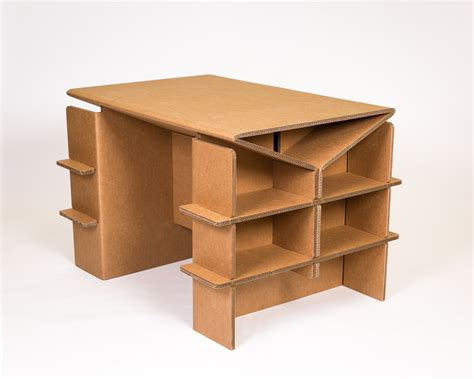 How To Make A Paper Table - cardboard arts crafts desk free shipping chairigami