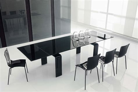black glass dining room table home office decorating ideas black glass dining room table