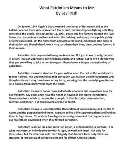 My Day In America Essay by Patriotism Essay For Essay On My Nari Shakti