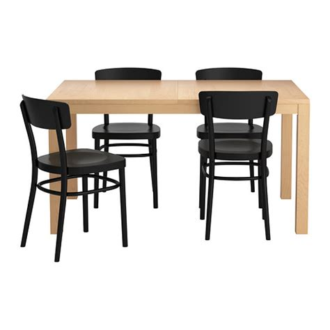 Ikea Dining Table And Chairs Bjursta Idolf Table And 4 Chairs Ikea