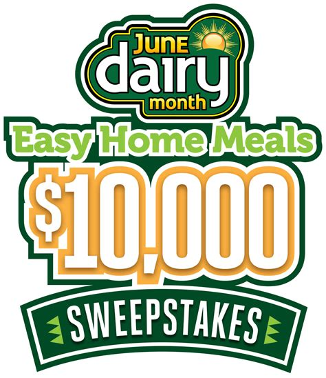 Nc Sweepstakes 2017 - june dairy month 10 000 sweepstakes 2017 entry form easy home meals