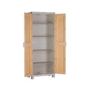 armoire de rangement wenge plastiken 184x70x45