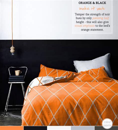 orange and black bedroom ideas palette addict black orange bedroom idea bright