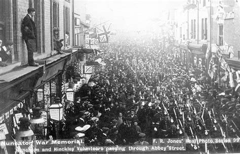 nuneaton abbey street our warwickshire nuneaton march of nuneaton and hinckley volunteers our