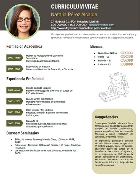 Modelo De Curriculum Vitae Maestra Jardinera Modelo De Curriculum Vitae Docente Escuela Modelo De Curriculum Vitae