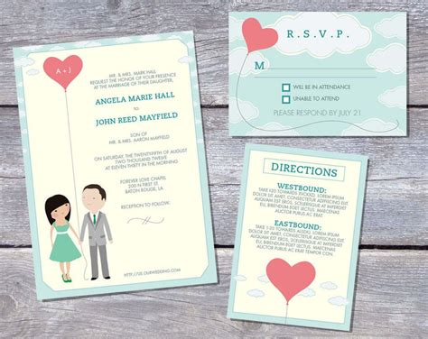 Wedding Invitations Printable by Wedding Invitation Printable Wedding Invitation