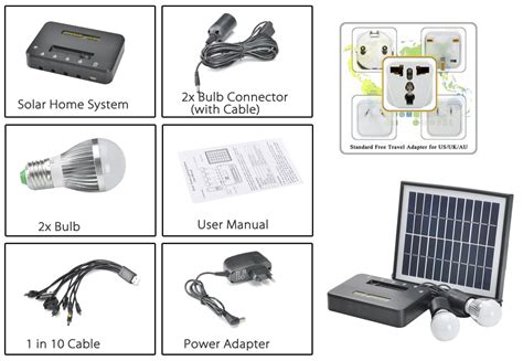 solar led home lighting system solar home lighting system j d ship