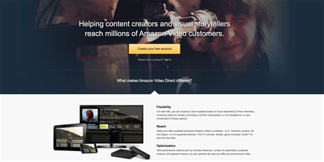 amazon video direct amazon video direct une nouvelle concurrence pour