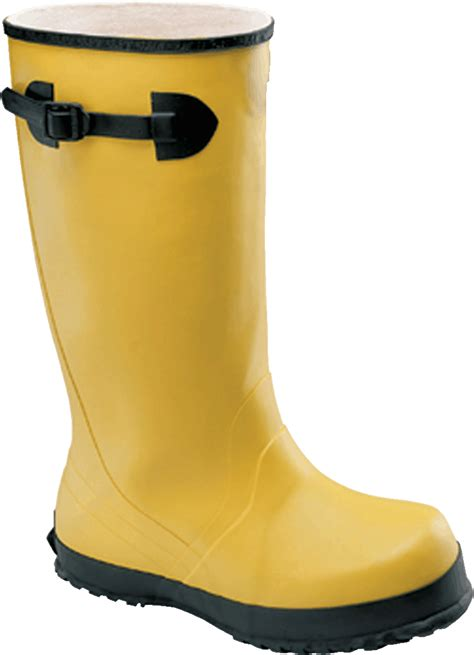Kickers Glove Safety Boots industrial safety footwear yellow slicker rubber boot