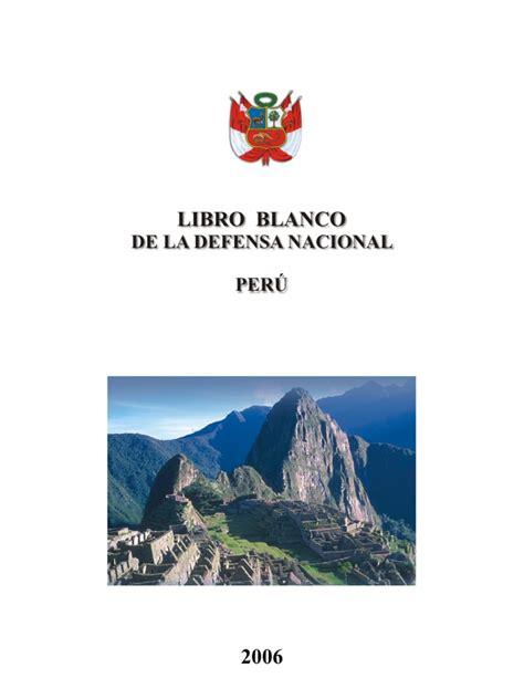 libro en defensa de espaa el libro blanco de la defensa nacional