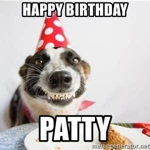Happy Birthday Patti Meme