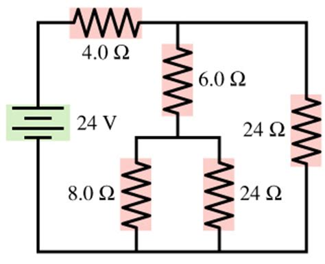 how to find current for each resistor for the circuit shown in the figure find the curr chegg