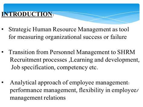 Strategic Human Resource Management Notes Mba marayam bayi hr4 ict12