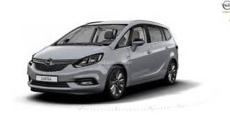 Opel Zafra 2017 Opel Zafira Leak Reveals An Astra Inspied Front Fascia