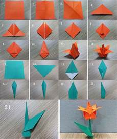 How To Do An Origami Flower - 40 origami flowers you can do que designs and hacer