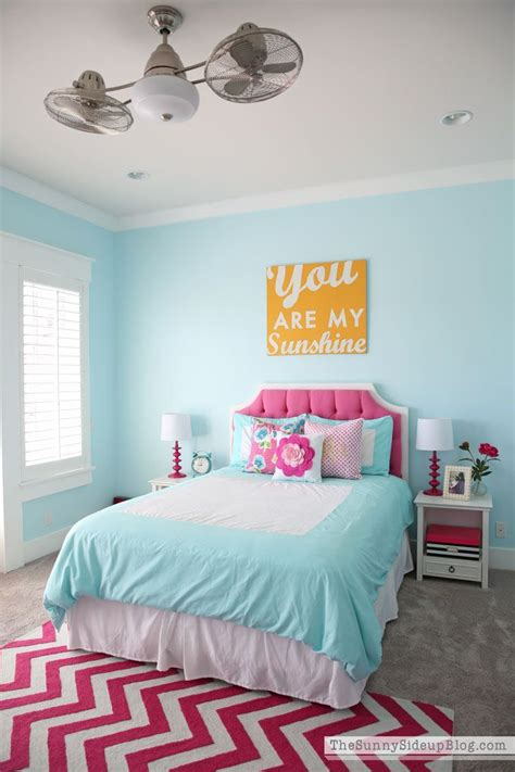 turquoise and pink girl bedroom best 25 blue girls rooms ideas on pinterest blue girls
