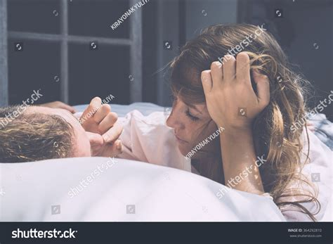 how to romance a woman in bed couple love morning bed filled tenderness stock photo 364292810 shutterstock