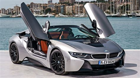 2018 bmw i8 roadster donington grey the sports car of